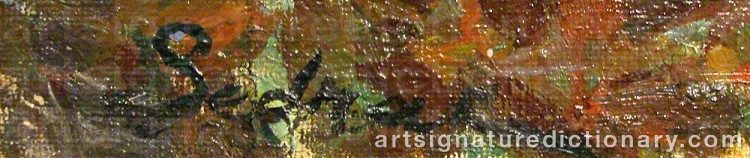 Signature by Serge Agababian SEDRAC