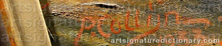 Signature by Per COLLIJN