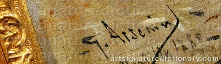 Signature by Georg ARSENIUS