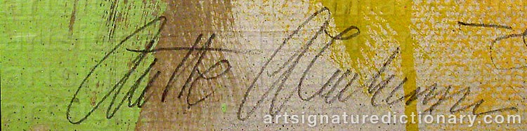 Signature by Anette ABRAHAMSSON