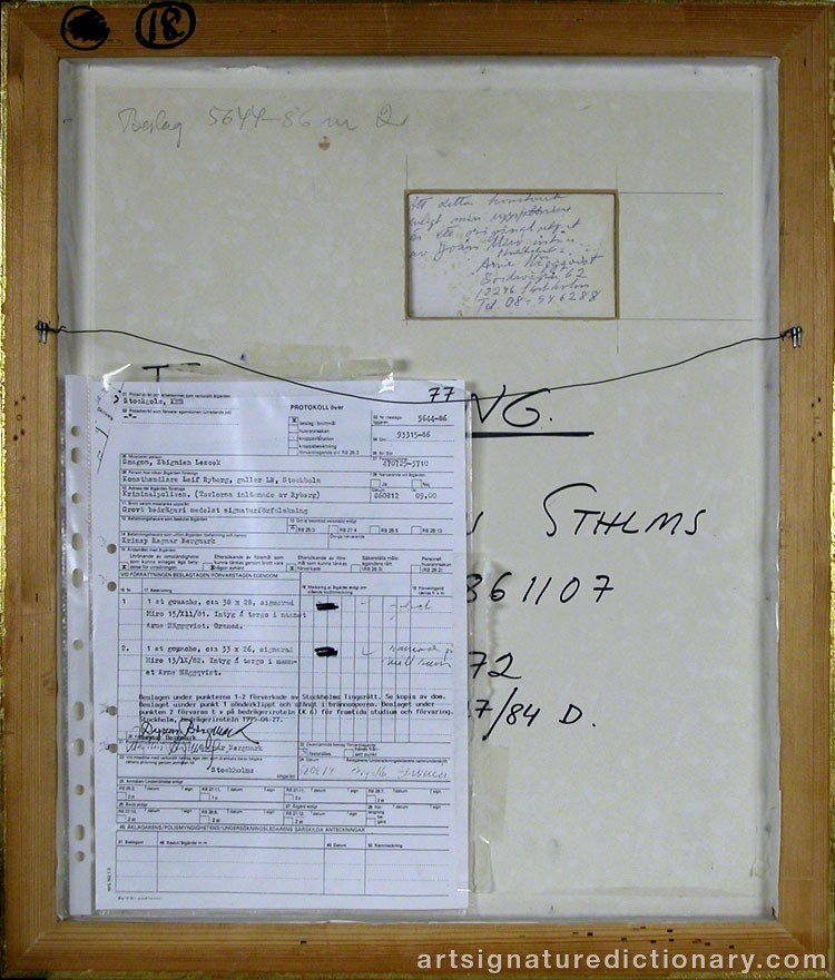 Details of forgery