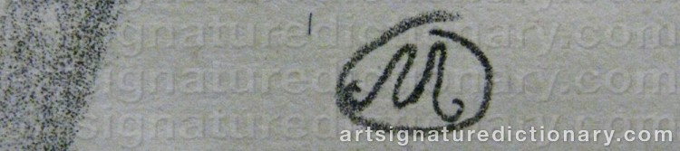Signature by Aristide MAILLOL