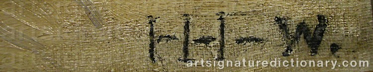 Signature by Helena HERSLOW
