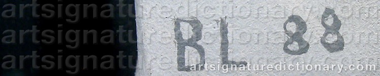 Signature by Bo LARSSON