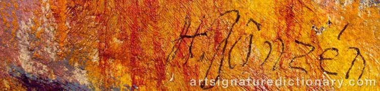 Signature by Hadar JÖNZÉN