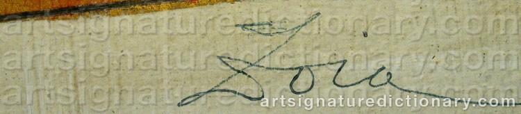 Signature by Krukowskaja ZOIA