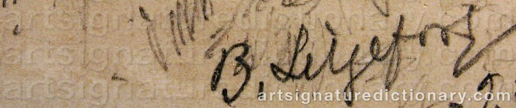 Signature by Bruno LILJEFORS