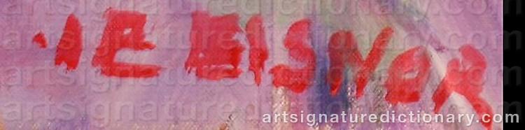 Signature by Ib EISNER