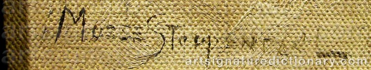 Signature by Mosse STOOPENDAAL