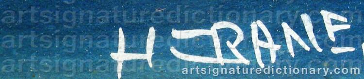 Signature by H. CRANE
