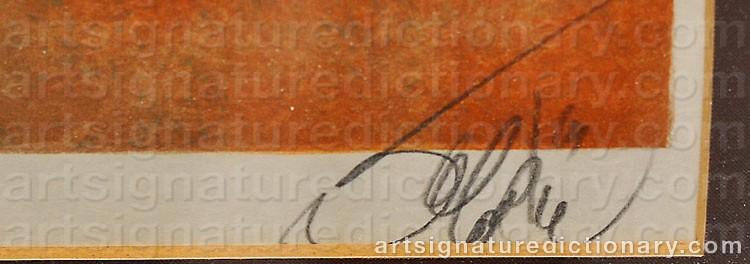 Signature by Jean-Baptiste VALADIÉ