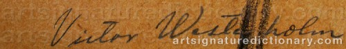 Signature by: WESTERHOLM, Victor
