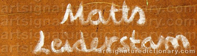 Matts leiderstam cruising med tavlor