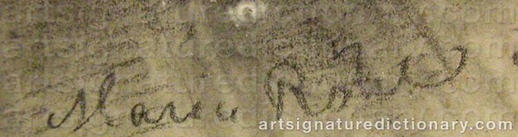 Signature by Maria Christina RÖHL