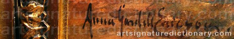 Signature by Anna GARDELL-ERICSON