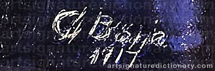 Signature by Gideon BÖRJE