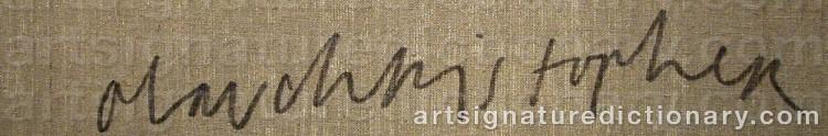 Signature by Olav Christopher JENSSEN
