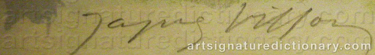 Signature by Jacques VILLON