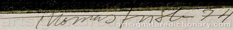 Signature by Thomas FRISK