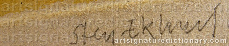 Signature by Sten EKLUND