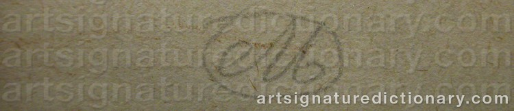 Signature by Aristide MAILLOL