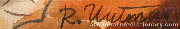 Signature by Richard UUTMAA