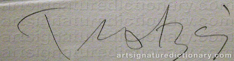 Signature by Ulf TROTZIG