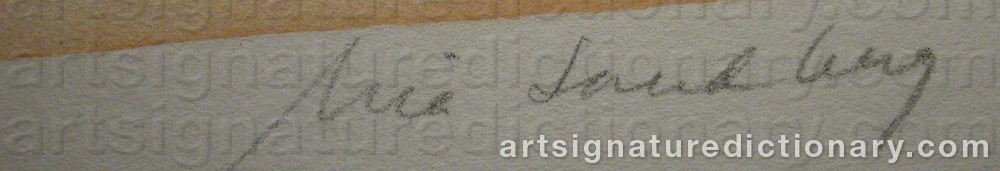 Signature by Mia SANDBERG