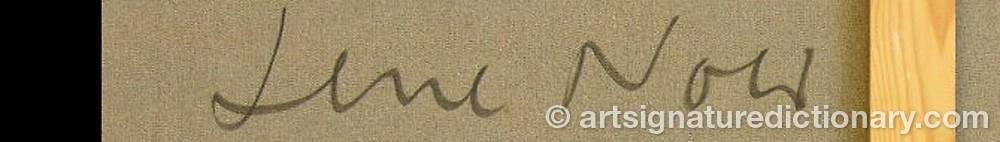 Signature by Lene NOER
