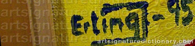 Signature by Erling 'Erling J' JOHANSSON