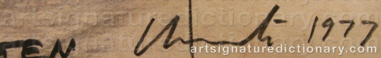 Signature by Christo JAVACHEFF