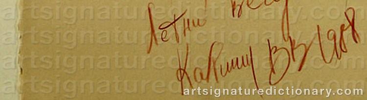 Signature by Viatcheslav KALININ