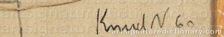 Signature by Knud Aage NIELSEN