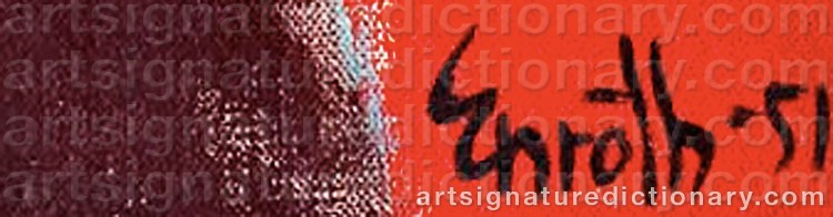 Signature by Erik ENROTH