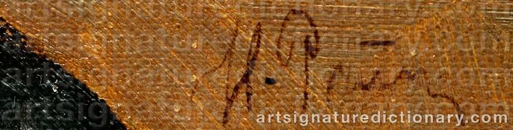 Signature by Ilya Efimovich REPIN