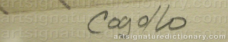 Signature by Heriberto COGOLLO