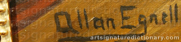 Signature by Allan EGNELL