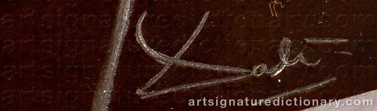 Signature by Salvador DALI