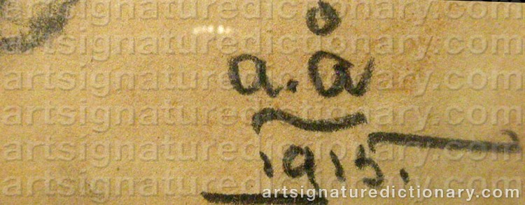 Signature by Acke ÅSLUND
