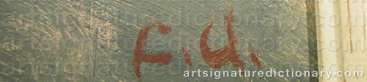 Signature by Folke ANDRÉASSON