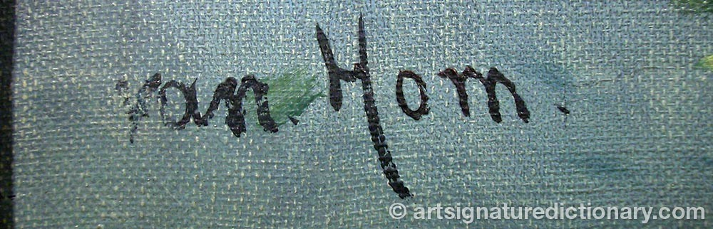 Signature by Van HORN