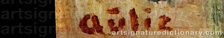 Signature by Reidar 'Aulie' AULIE