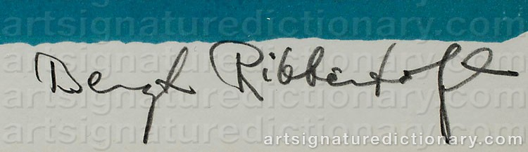 Signature by Bengt RIBBENTOFT