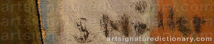 Signature by Sigurd MÖLLER
