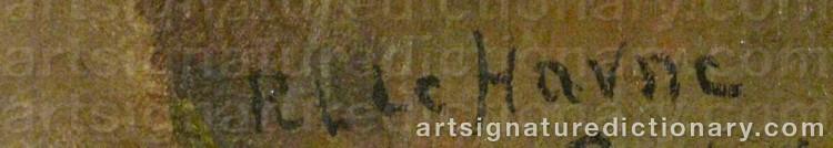 Signature by Per 'Pelle' HAVNE