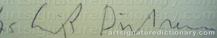 Signature by Erik DIETMAN