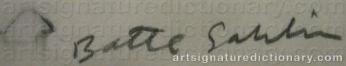 Signature by: SAHLIN, Batte