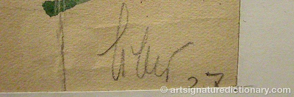 Signature by Irina Valerianovna STEINBERG