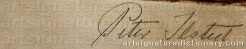 Signature by: ILSTED, Peter Vilhelm