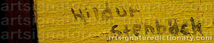Signature by Hildur STENBÄCK